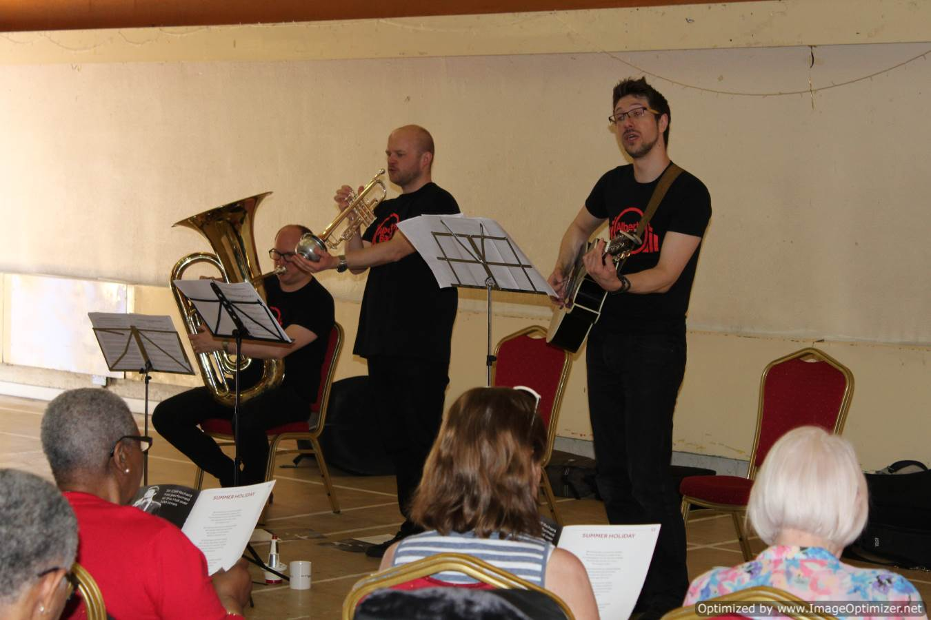 Albert Hall band perform at HOC